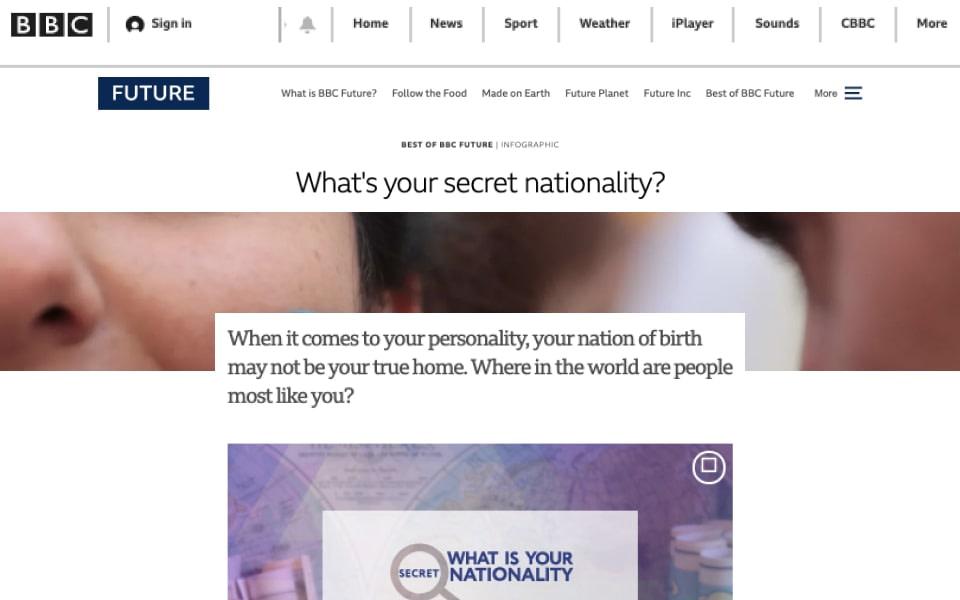 BBC secret nationality coverage