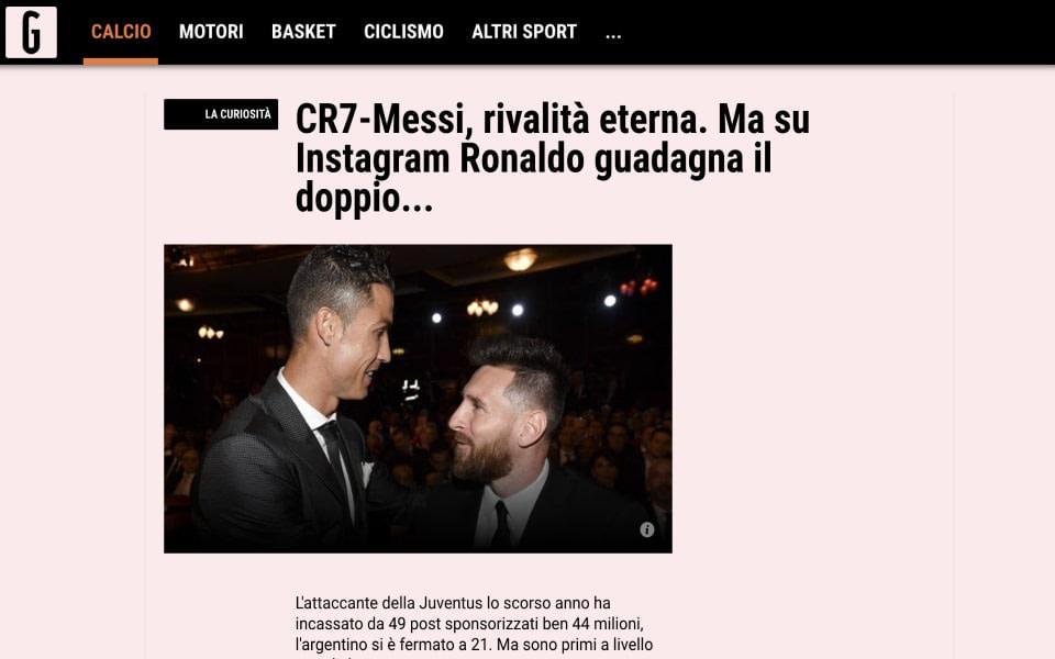 Gazetta article