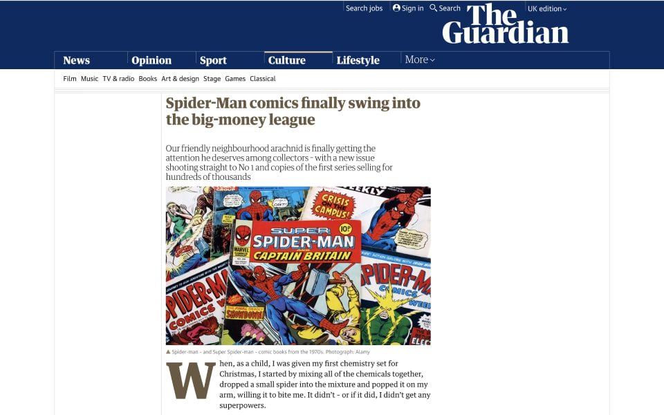 the guardian coining it in coverage