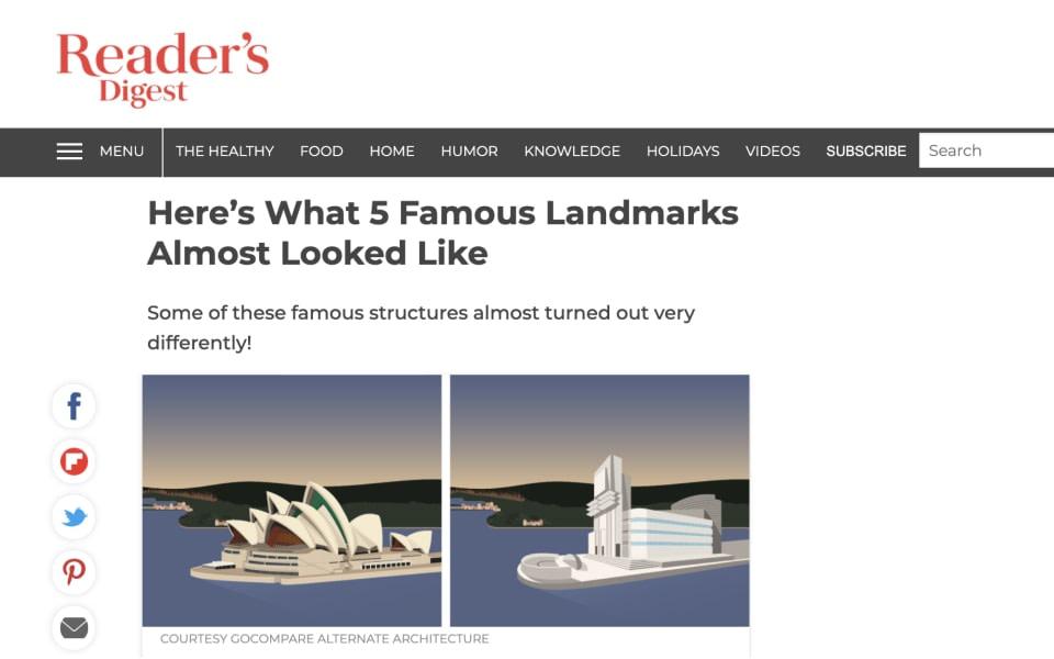 Readers digest article