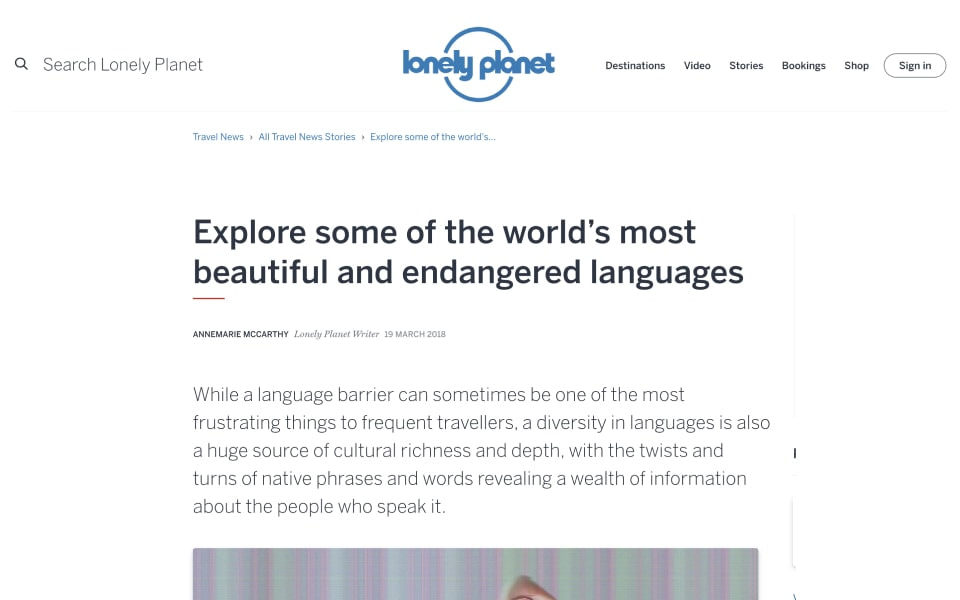 lonely planet coverage
